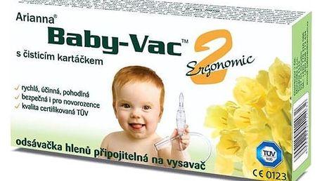 Nosní odsávačka Arianna Baby-Vac 2 Ergonomic na vysavač