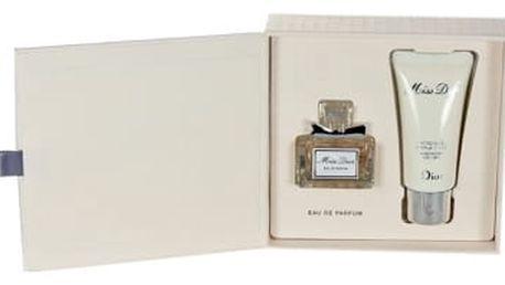 Christian Dior Miss Dior 2012 dárková kazeta pro ženy parfémovaná voda 5 ml + tělové mléko 20 ml