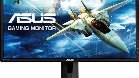 """ASUS VG245Q - LED monitor 24"""" - 90LM02V0-B02370 + Sluchátka Asus Cerberus iCafe v hodnetě 1399,- k LCD Asus zdarma"""
