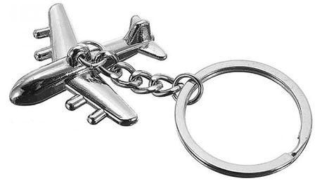 Přívěsek na klíče - letadlo