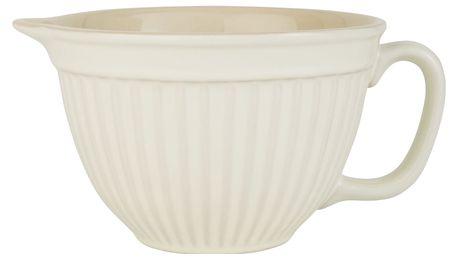 IB LAURSEN Mísa na těsto Mynte Butter Cream, krémová barva, keramika