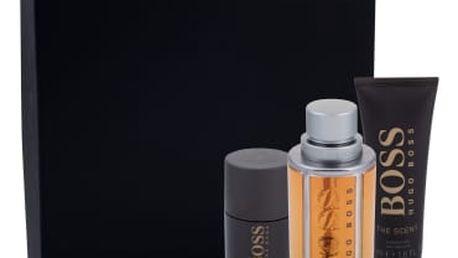 HUGO BOSS Boss The Scent dárková kazeta pro muže edt 100 ml + sprchový gel 50 ml + deostick 75 ml