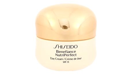 Shiseido Benefiance NutriPerfect SPF15 50 ml denní pleťový krém Poškozená krabička W