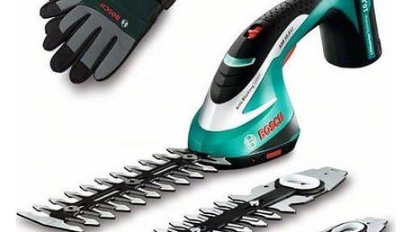 Nůžky na trávu Bosch ASB 10,8 Li set s rukavicemi