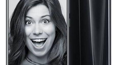 Mobilní telefon Honor 9 Dual SIM 64 GB (51091TBH) černý Fitness náramek Honor Band 3 - modrý (zdarma)Software F-Secure SAFE 6 měsíců pro 3 zařízení (zdarma) + Doprava zdarma