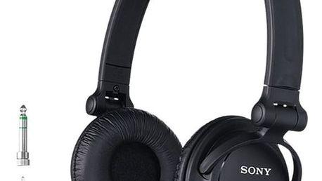Sony MDR-V150B, černá - MDRV150.CE7