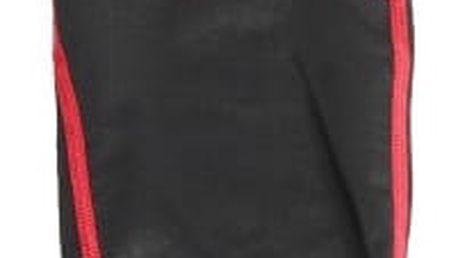 Kompresní unisex sportovní návleky-Černo-červená M