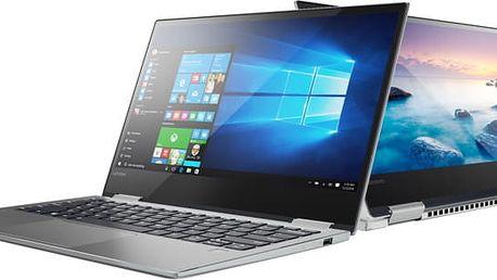 Lenovo Yoga 720-13IKB, platinově-stříbrná - 80X60094CK + 4K Content & Creativity Software