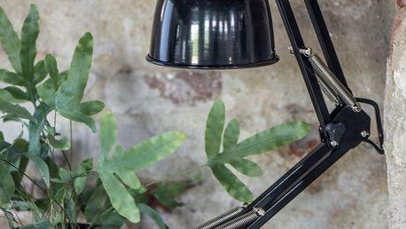 IB LAURSEN Stolní lampa Architect model, černá barva, kov