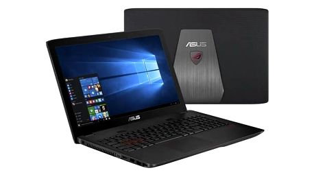 Notebook Asus ROG GL552VX-CN117T (GL552VX-CN117T) černý/plast Monitorovací software Pinya Guard - licence na 6 měsíců (zdarma) + Doprava zdarma