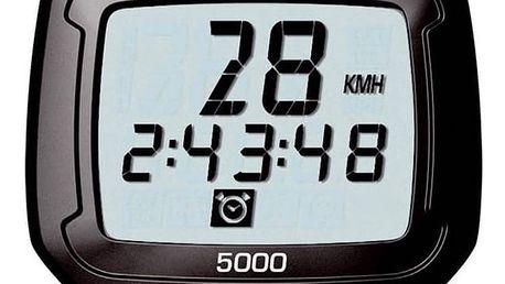 Cyklopočítač Sigma SPEEDMASTER 5000 černý