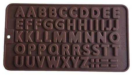 Silikonová formička - abeceda