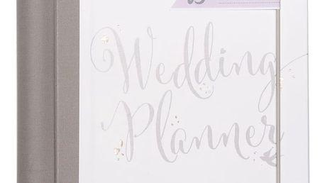 Busy B Svatební plánovač, bílá barva, papír