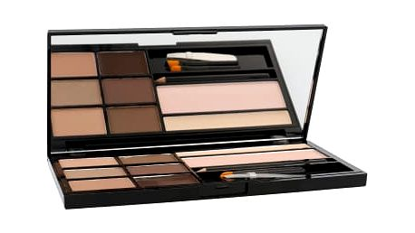 Makeup Revolution London Ultra Brow Palette 18,98 g úprava obočí pro ženy Fair To Medium