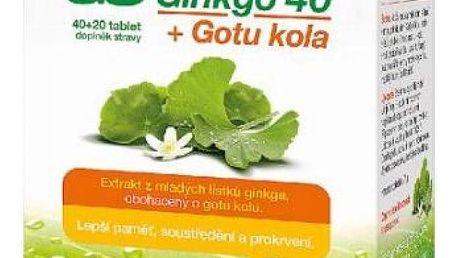 GS Ginkgo 40 + Gotu kola 40+20 tablet