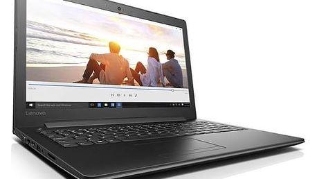Notebook Lenovo IdeaPad 310-15ABR (80ST005NCK) černý Monitorovací software Pinya Guard - licence na 6 měsíců (zdarma) + Doprava zdarma
