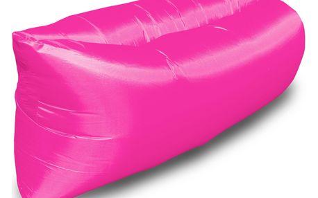 Nafukovací sedací pytel pink
