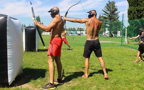 Arrow game: přátelská přestřelka s luky a šípy