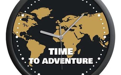 Nástěnné hodiny pro cestovatele