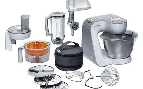 Kuchyňský robot Bosch MUM54240 stříbrný/bílý