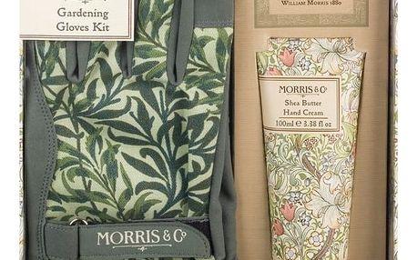 MORRIS & Co. Dárková sada pro zahradnice Golden Lily, zelená barva, žlutá barva, plast, papír, textil