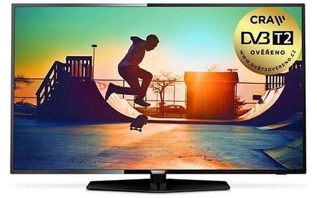 Televize Philips 43PUS6162/12 černá