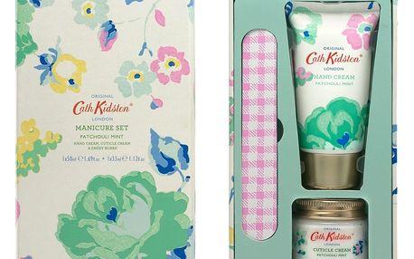 Cath Kidston Dárková sada s péčí o ruce Patchouli Mint, zelená barva, bílá barva, multi barva, plast, papír