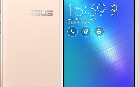 ASUS ZenFone Live, zlatá - 90AK0072-M00300 + Powerbank ASUS ZenPower Slim 4000 mAh, v hodnotě 1 000,-