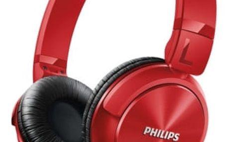 Sluchátka Philips SHL3060RD (SHL3060RD) červená