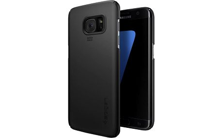 Spigen Thin Fit, black - Gal S7 edge - 556CS20029