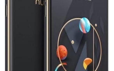 Mobilní telefon Nubia M2 Lite Dual SIM 3 GB + 64 GB (6902176900709) černý/zlatý