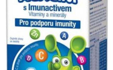 WALMARK Marťánci s Imunactivem jahoda 90 tablet