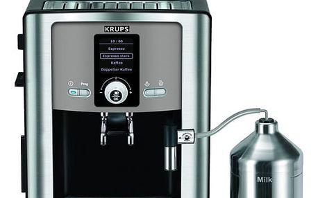 Krups Espresseria Automatic EA8050PE černé/titanium