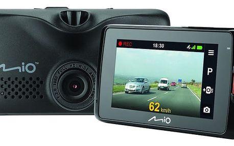 Mio MiVue 618 DashCam, kamera do auta - 5415N4890009 + Paměťová karta micro SDHC 16GB Kingston (class 10) v ceně 249 Kč