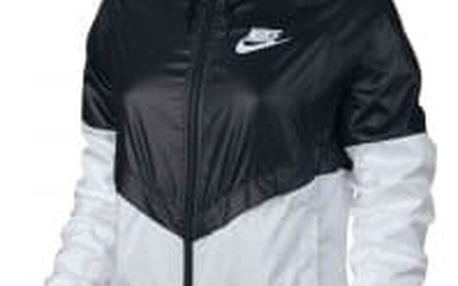 Dámská bunda Nike W NSW WR JKT S BLACK/WHITE/WHITE