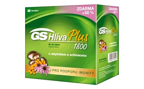 GS Hliva Plus 80 + 40 tablet ZDARMA