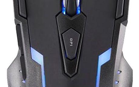 Modecom MC-GMX VOLCANO - M-MC-0GMX-100 + Podložka pod myš CZC G-Vision Dark v ceně 199,-