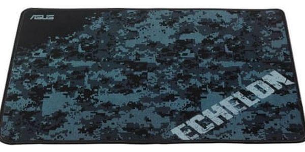 Podložka pod myš Asus Gaming Pad (90YH0031-BDUA00) černá/modrá