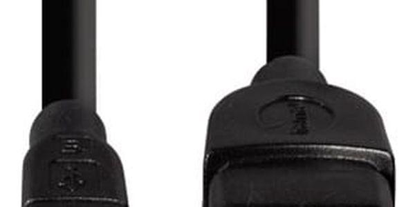 Kabel Hama USB/micro USB, OTG (78426) černý2