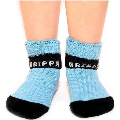 Rostoucí ponožky Snuguns booties - modré