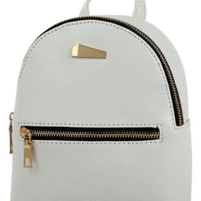 Luxusní městský batoh v elegantních barvách - Krémová