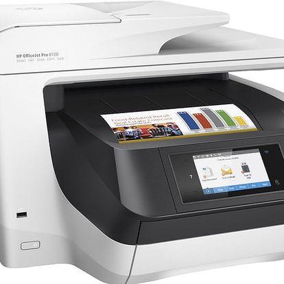 """HP Officejet Pro 8720 - D9L19A + HP 14.0"""" Dámská taška Ladies Slim černá"""