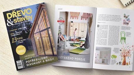 Předplatné magazínu Dřevo&Stavby