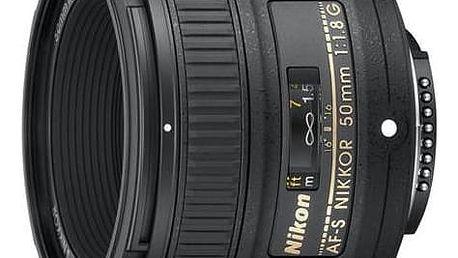 Objektiv Nikon NIKKOR 50MM F1.8G AF-S černý + Doprava zdarma