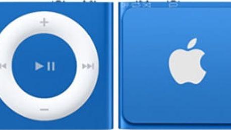Apple iPod shuffle - 2GB, modrá, 4th gen. - MKME2HC/A