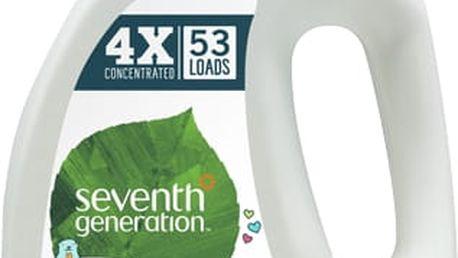 SEVENTH GENERATION Přírodní dětský prací gel, 53 dávek - Sensitive HA