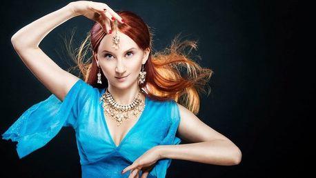 Skupinové lekce orientálního tance pro začátečnice