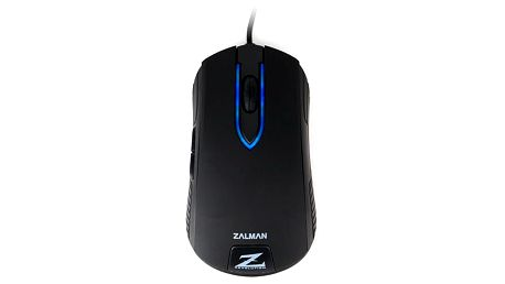 Zalman ZM-M201R Gaming + Podložka pod myš CZC G-Vision Dark v ceně 199,-