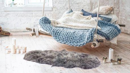 Islandské a dánské ovčí kůže do interiéru