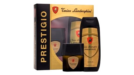 Lamborghini Prestigio dárková kazeta pro muže toaletní voda 50 ml + sprchový gel 200 ml